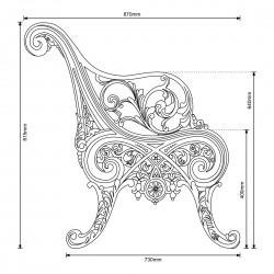 Carron Mystery Bench Ends