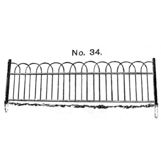 The Arnside Hoop Top Fencing Style 34