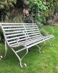 Rocklands Wrought Iron Benches