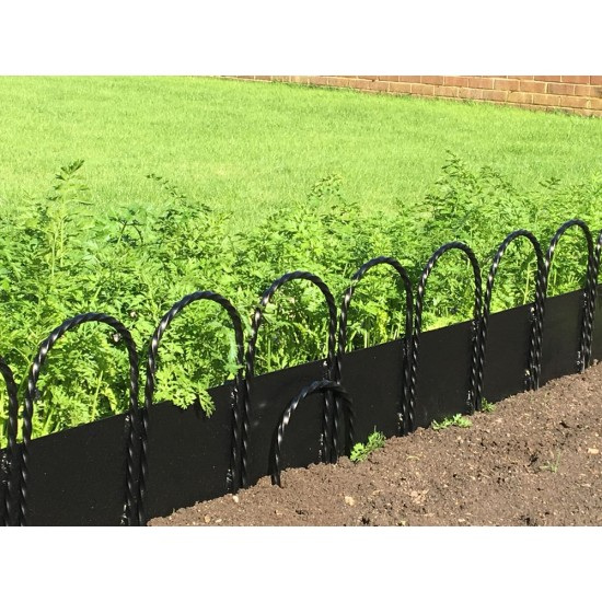 Twisted Border Edging: Plate